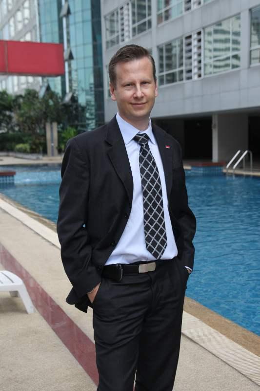 Mr. Peter Daniel Holtsjo, Country President of Securitas (Thailand)