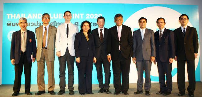 Participants at Thailand Blueprint 2020 project public seminar