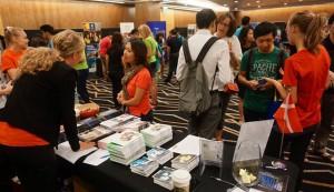 Photo: Danish Embassy in Singapore at the education fair.