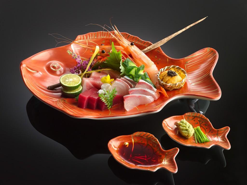 Assorted Sashimi Japanese style