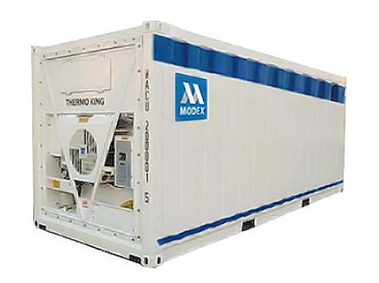 Modex-reefer-container