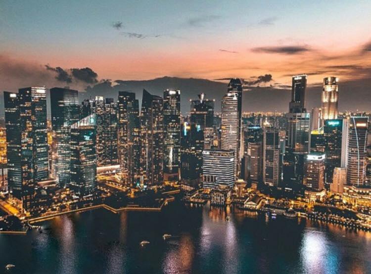 Marina Bay in Singapore. Source: visit_singapore Instagram