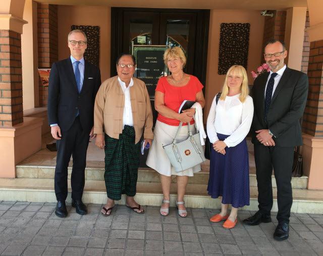 Swe-MFA-Rangon-visit