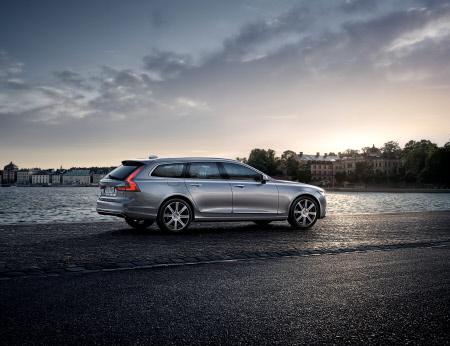 Volvo V90 car