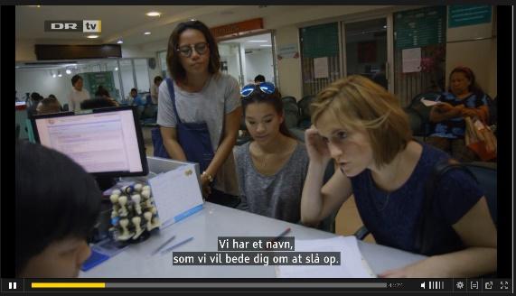Danish girl finds Thai mother
