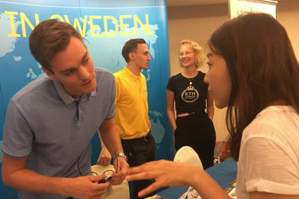 Sweden attends Study in Europe Singapore fair