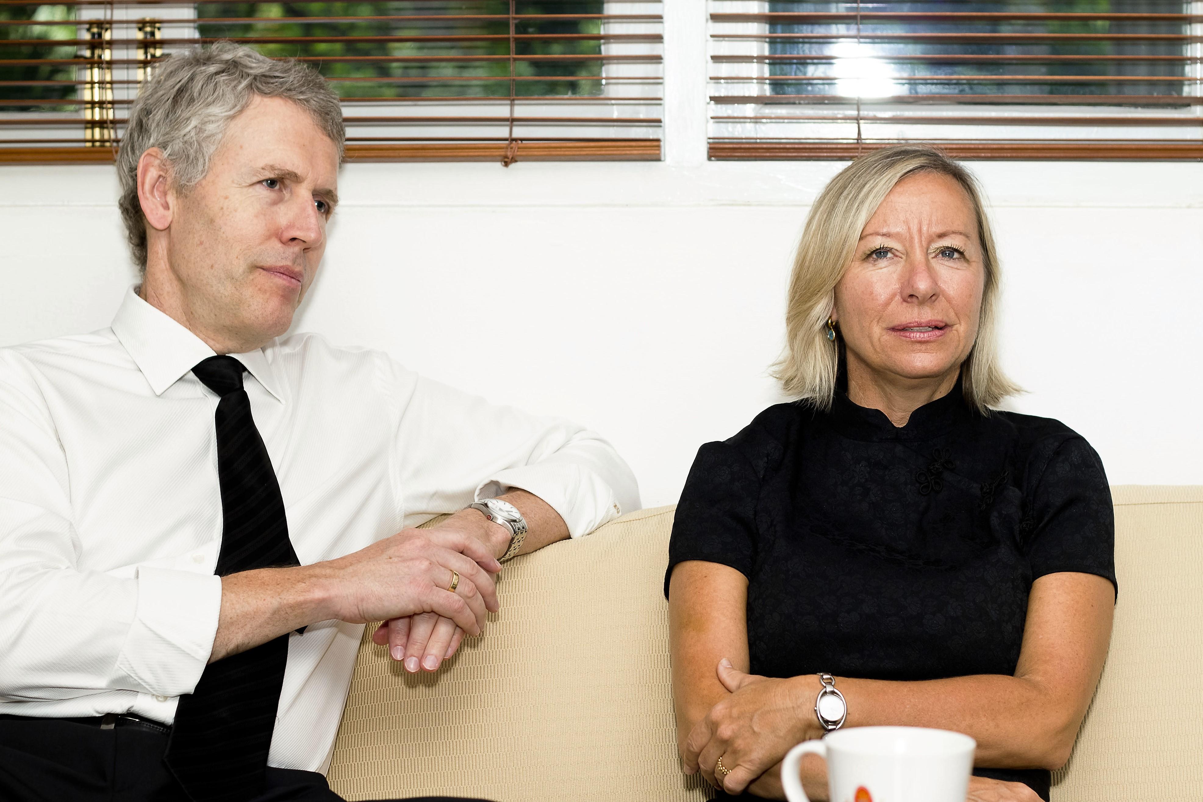 Danish Ambassador Uffe Wolffhechel and wife Susie A. Ruff