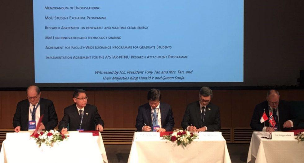 NTU partners NTNU and DNV GL
