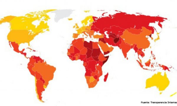 Denmark, Sweden, Norway, Finland - and Singapore - least corrupt countries