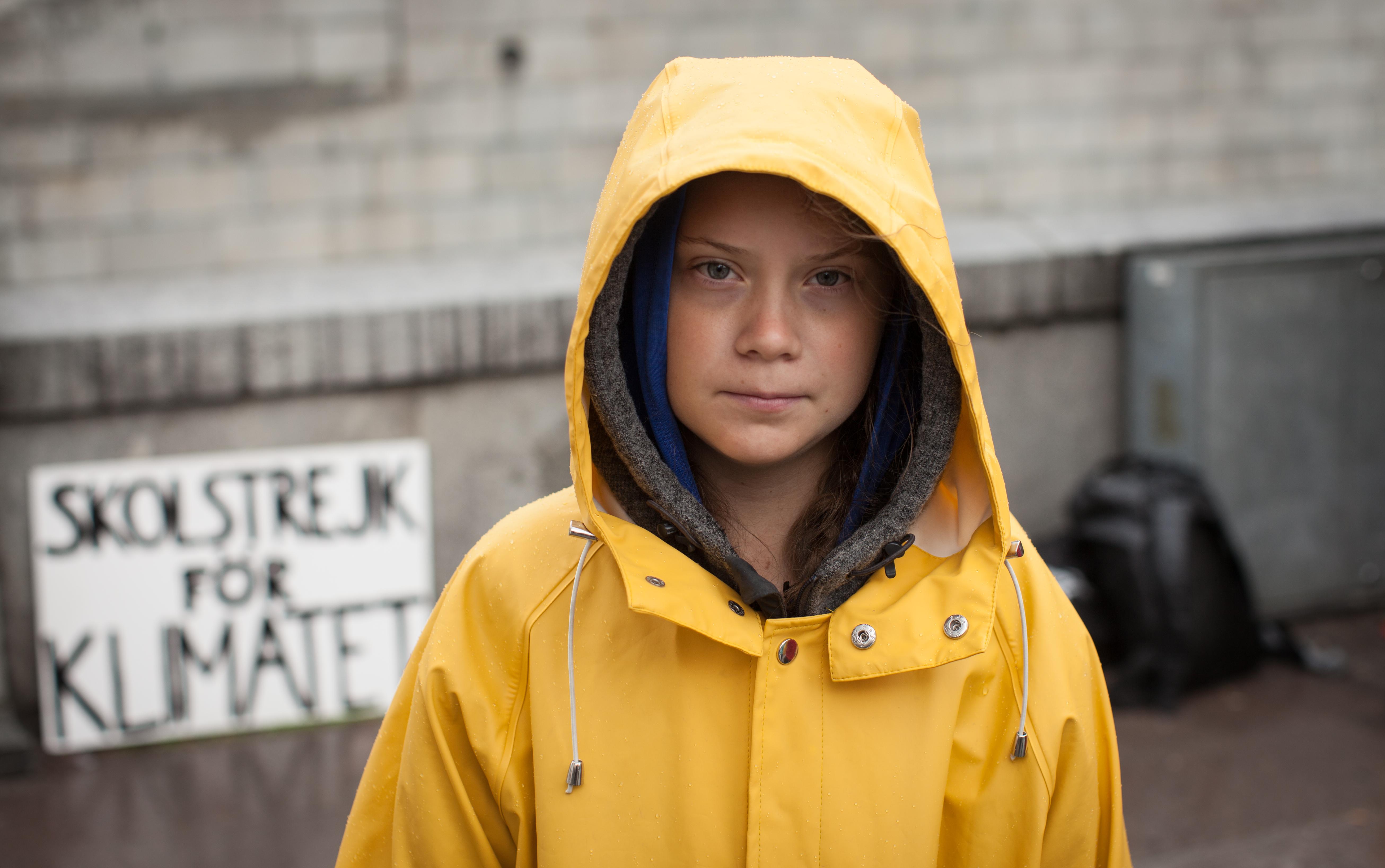 Greta Thunberg swedish activist